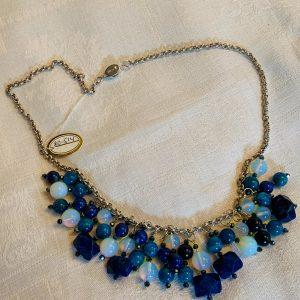 Halsband handgjord siverkedja 100%silver