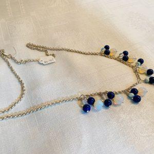 Halsband handgjord 100% silver